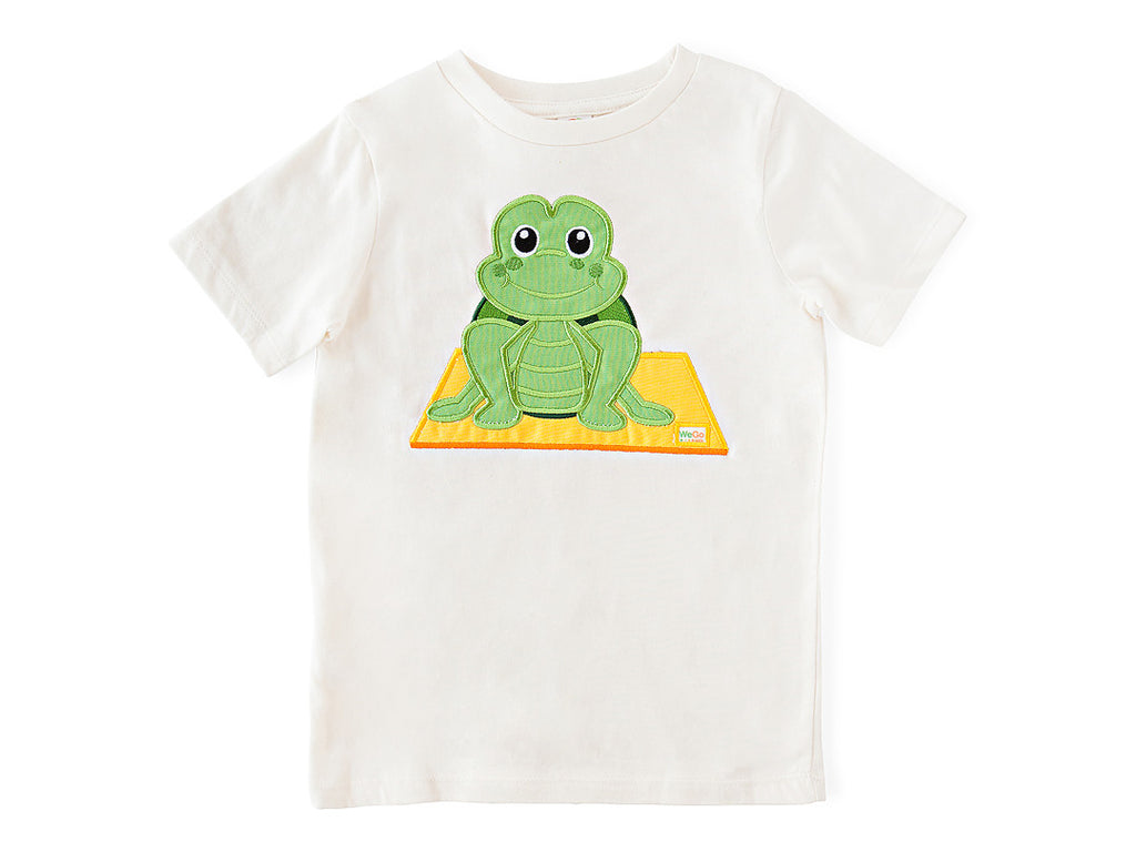 Turtle Pose T-Shirt Organic Cotton