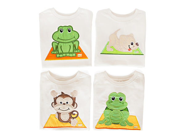 Frog Pose T-Shirt Organic Cotton