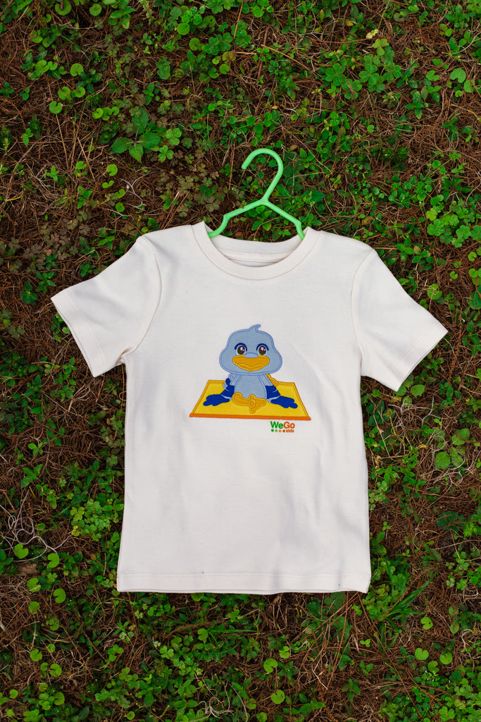 Pigeon Pose T-Shirt Organic Cotton