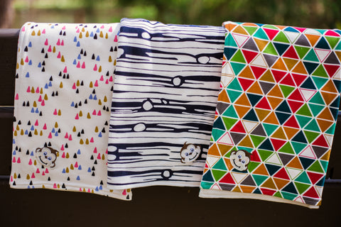 Reversible Baby Blanket Organic Cotton