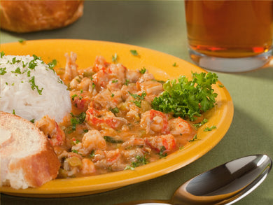New Orleans Style Crawfish & Shrimp Etouffee (Serves 12-16)