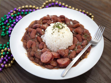 New Orleans Style Red Beans & Rice with Sausage (Serves 10-12)