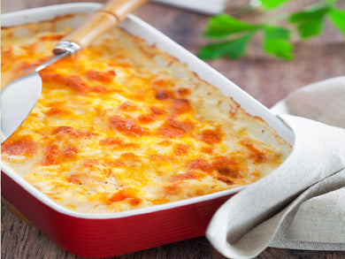 Shrimp & Crabmeat Au Gratin (Serves 8-10)