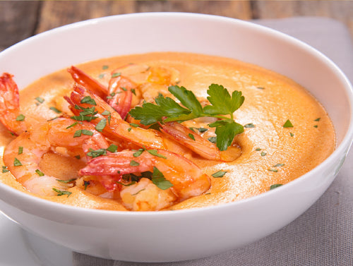Cajun Mike's Shrimp & Sausage Soup (Serves 10-12)