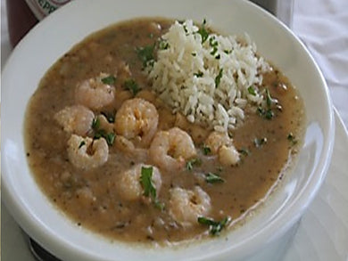 White Beans & Shrimp (Serves 8-10)