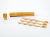 Bamboo Clothing & Accessories by Mabboo, Adults Bamboo Toothbrush - Round Natural, Others