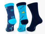 Bamboo Clothing & Accessories by Mabboo, Clevedon - Set of x3 Pairs Bamboo Socks, W_Socks