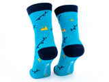 Bamboo Clothing & Accessories by Mabboo, Boo mountain & Black - Set of x2 Pairs Bamboo Socks, M_Socks