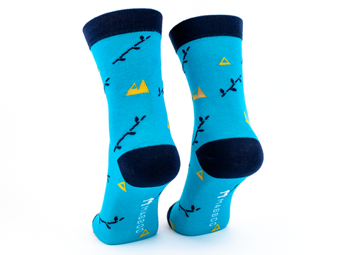 Boo mountain x1 Pair Bamboo Socks - Mabboo
