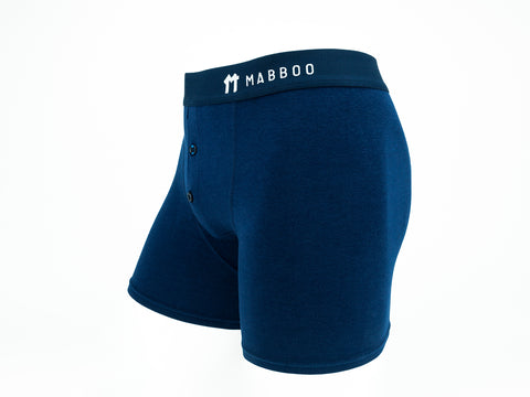 Bamboo Clothing & Accessories by Mabboo, Navy Boxers, M_Underwear