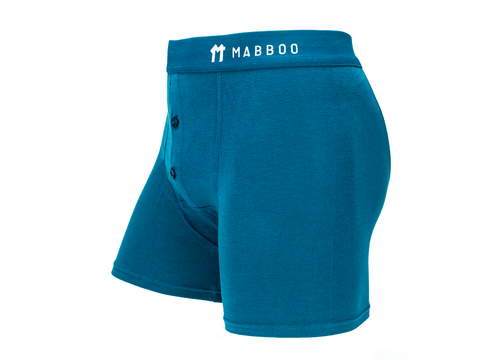 Teal Boxers - Mabboo