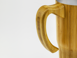 Bamboo Coffee Cup with Handle, Drinking Accessories, Mabboo, bamboo, clothing, accessories, sustainable, bristol, eco, eco-friendly, wooden, uk