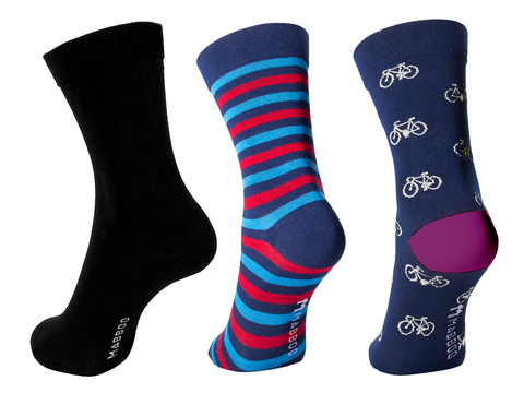 Bamboo Clothing & Accessories by Mabboo, Brean - Set of x3 Pairs Bamboo Socks, W_Socks