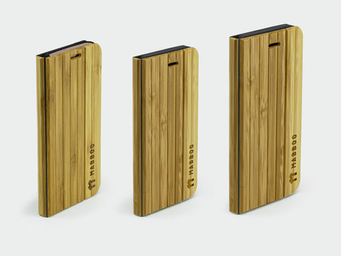 Bamboo Clothing & Accessories by Mabboo, Bamboo Flip Case, Phone Cases