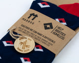 Bamboo Clothing & Accessories by Mabboo, Help Bristol's Homeless Limited Edition x1 Pair Bamboo Socks, W_Socks