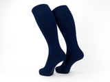 Bamboo Clothing & Accessories by Mabboo, Navy x 1 Pair Knee High Bamboo Socks, W_Socks