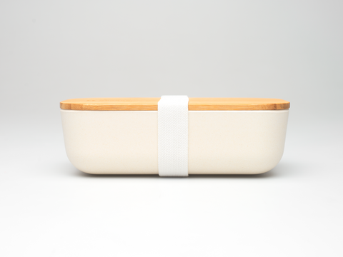 Bamboo Lunchboxes - White - Mabboo