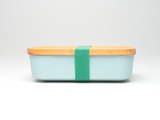 Bamboo Clothing & Accessories by Mabboo, Bamboo Lunchboxes - Light Blue, Others