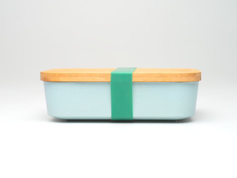 Bamboo Lunchboxes - Light Blue - Mabboo