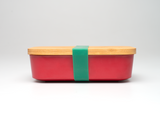 Bamboo Lunchboxes - Red - Mabboo