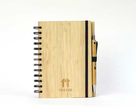 Bamboo Clothing & Accessories by Mabboo, Notebook and Pen Set, Others