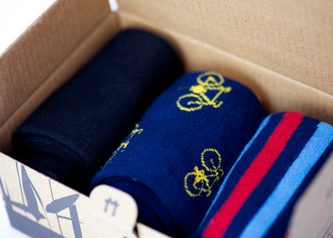Bamboo Clothing & Accessories by Mabboo, Bamboo Sock Gift Box - Custom Choice x3 pairs, W_Socks