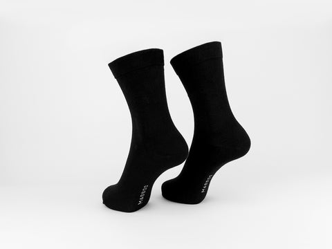 Bamboo Clothing & Accessories by Mabboo, Black x1 Pair Bamboo Sport Socks, W_Socks