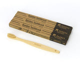Adults Bamboo Toothbrush - Straight Brown Bristle - Mabboo