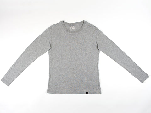 Bamboo Clothing & Accessories by Mabboo, Grey Melange Bamboo Sweatshirt, MENS T-Shirt