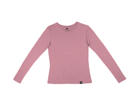 Bamboo Clothing & Accessories by Mabboo, Coral - Bamboo Long Sleeve Top, WOMENS T-Shirt