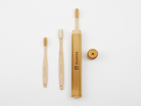 Bamboo Clothing & Accessories by Mabboo, Kids Bamboo Toothbrush - White Bristle, Others