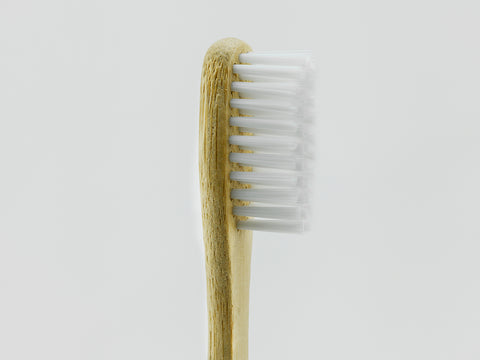 Bamboo Clothing & Accessories by Mabboo, Adults Bamboo Toothbrush - Straight White Bristle, Others