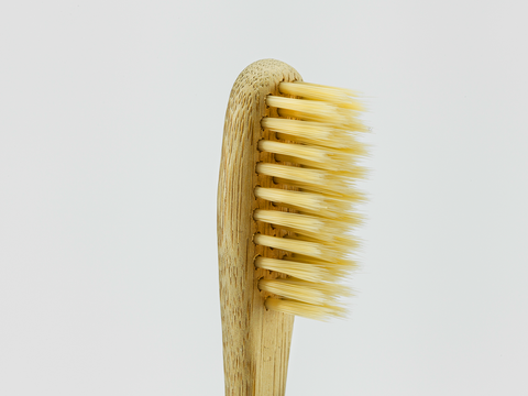 Adults Bamboo Toothbrush - Brown Bristle