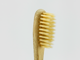 Kids Bamboo Toothbrush - Straight Brown Bristle - Mabboo