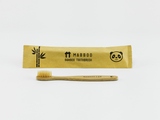 Bamboo Clothing & Accessories by Mabboo, Kids Bamboo Toothbrush - Brown Bristle, Others