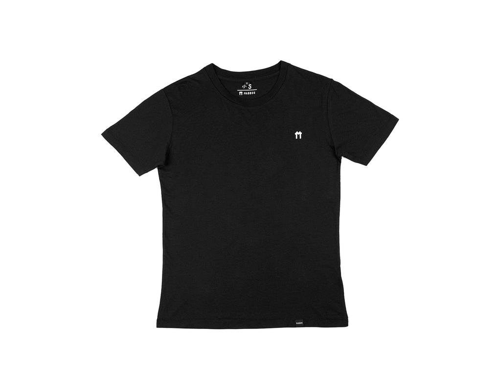 7fa2932dcd7 Bamboo Clothing & Accessories by Mabboo, Black Bamboo T- Shirt with logo,  MENS