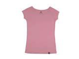 Bamboo Clothing & Accessories by Mabboo, Coral - Raglan Sleeve Bamboo T-Shirt, WOMENS T-Shirt