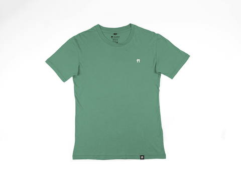 Green Bamboo T- Shirt with logo - Mabboo