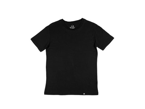 Bamboo Clothing & Accessories by Mabboo, Plain Black Bamboo T- Shirt, MENS T-Shirt