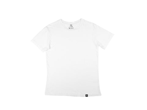 Bamboo Clothing & Accessories by Mabboo, Plain White Bamboo T-shirt, MENS T-Shirt