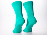 Bamboo Clothing & Accessories by Mabboo, Green / Panda - Set of x2 Pairs Bamboo Socks, M_Socks