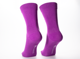 Purple Dahlia x1 Pair Bamboo Socks - Mabboo