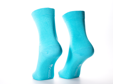 Bamboo Clothing & Accessories by Mabboo, Blue Capri x1 Pair Bamboo Socks, W_Socks
