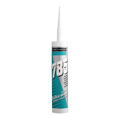 Dow Corning 785+ Sanitary Silicone Sealant - White
