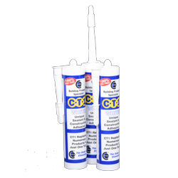 CT1 Construction Sealant & Adhesive Clear x 12 tubes