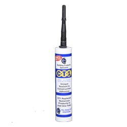 CT1 Sealant & Construction/Marine Adhesive Black x 6