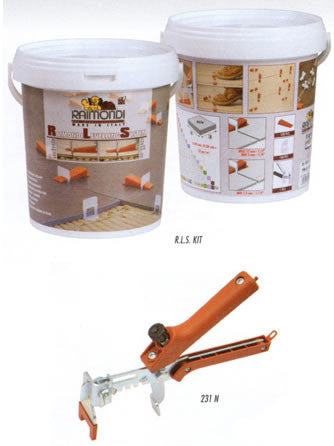 Raimondi Starter Kit Tile Levelling System for Floors