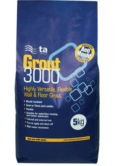 Tilemaster Grout 3000 5 KGS - CHARCOAL