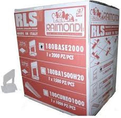 Raimondi Base Clips - 2000 box RA180BASE2000