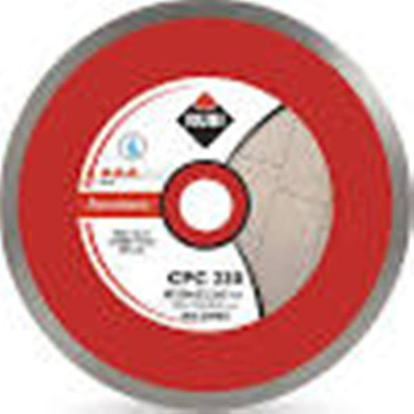 Rubi CPC 180mm Porcelain Cutting Tile Saw Blade Ref: 30955